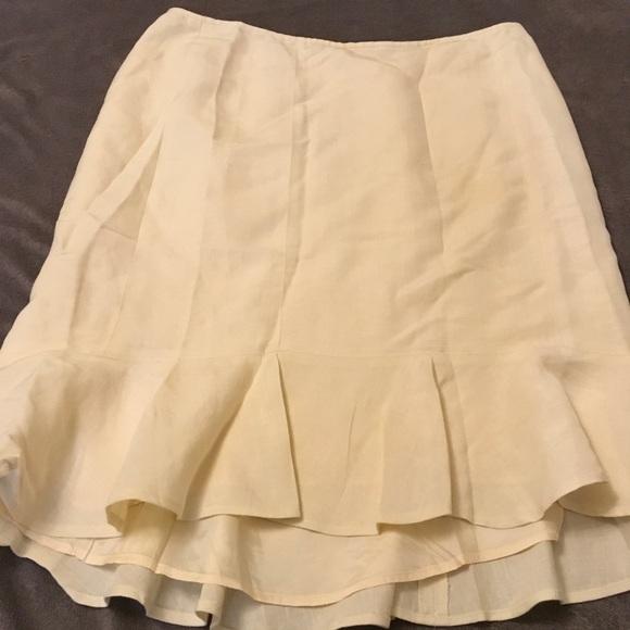 76a3b56260 Ann Taylor Skirts | Light Yellow Skirt | Poshmark